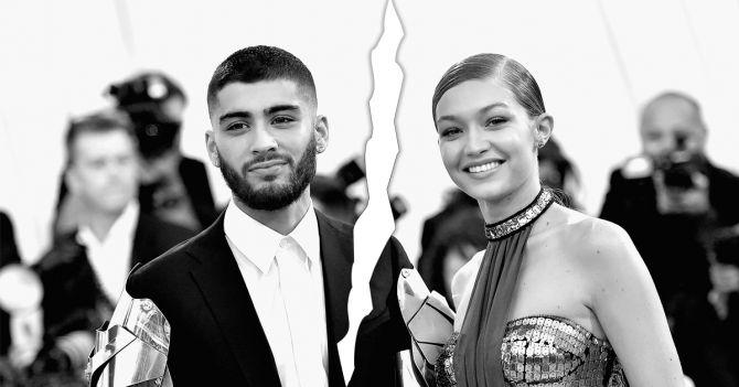 Zayn Gigi Hadid relatiebreuk celebs beroemdheden 2019
