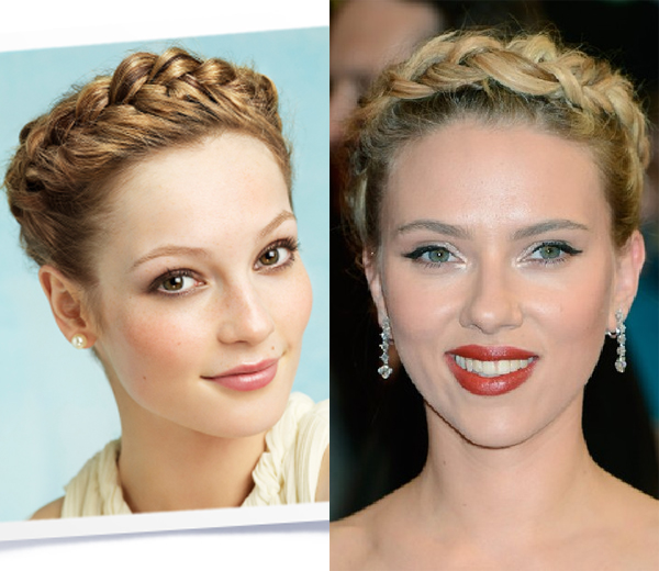 HOW TO. Griekse vlecht à la Scarlett Johansson