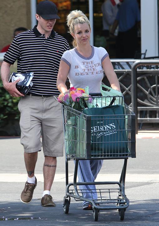 BritneyJustinShoppen