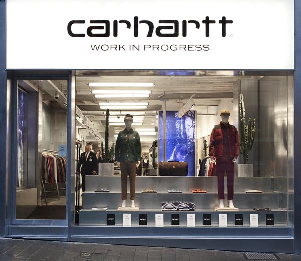 Carhartt opent exclusieve WIP flagship store in Gent