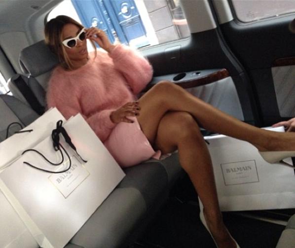 Ciara draagt Belgische Doriane Van Overeem