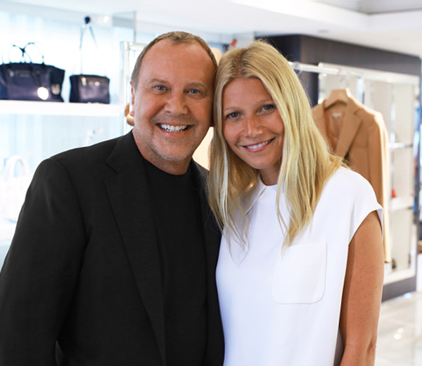 Gwyneth Paltrow strikt Michael Kors