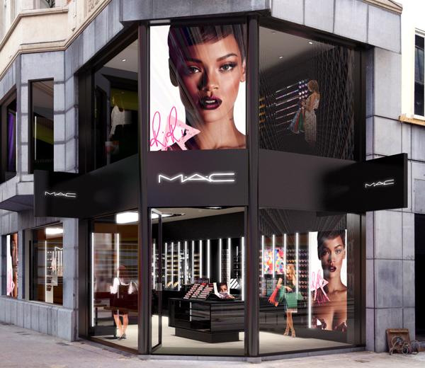 Nieuwe Brusselse M.A.C Store opent allereerste lash bar