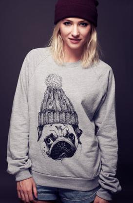 Pug Sweater - Etsy - 34,00 euro