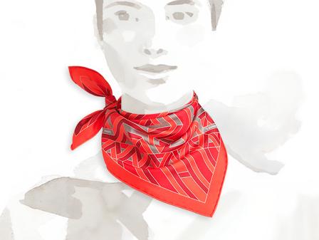 Sjaal Hermès - 135 euro