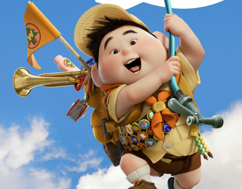 Russell uit Up (2009)