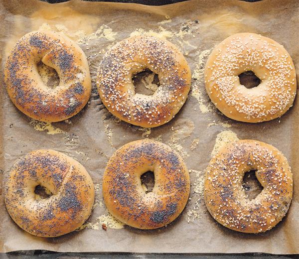 RECEPT. Klassieke bagels uit New York