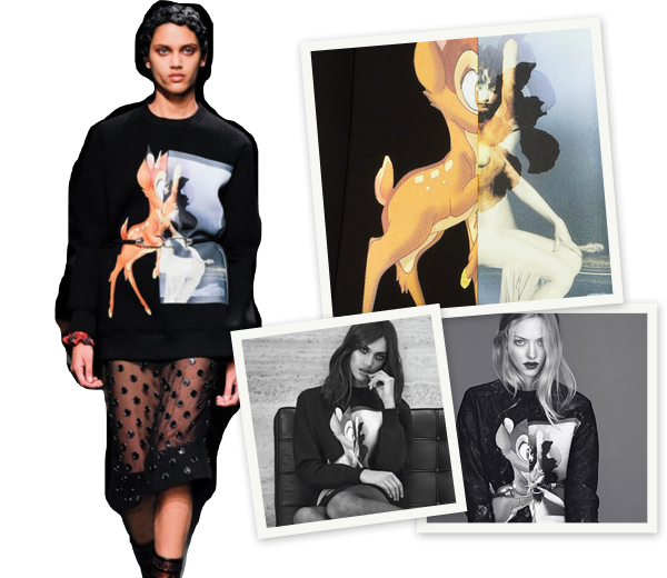 Trend: Givenchy's Bambi sweater