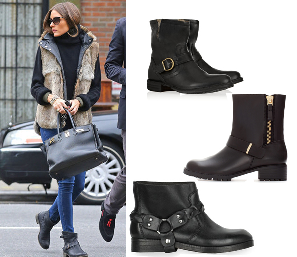 Shopping: bikerboots