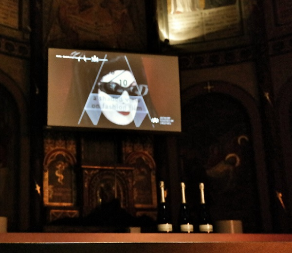 IN DE KIJKER. Diane Pernet en A Shaded View On Fashion Film in Antwerpen