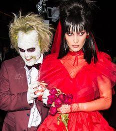 7 onvergetelijke Halloween kostuums van celebrity koppels