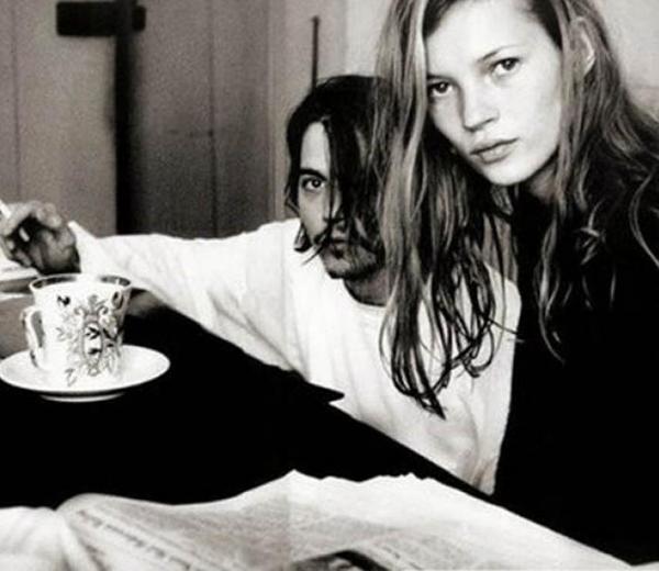 Kate Moss en Johny Depp: de mooiste beelden