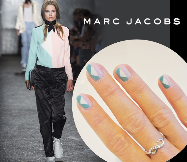 HOW TO: Marc by Marc Jacobs nail art