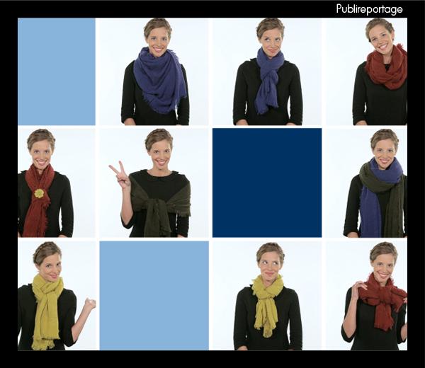 Publireportage: 10 looks met 1 sjaal