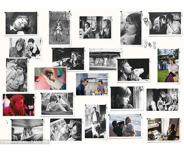 Unieke foto's van Jane Birkin en Serge Gainsbourg opgedoken