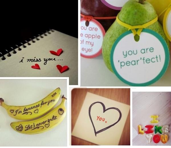 Pinspiration: Liefdevolle berichten achterlaten