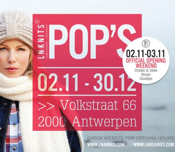 LN/Knits opent pop-up store in Antwerpen