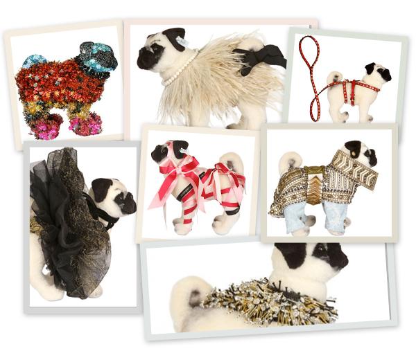 's Werelds grootste designers ontwierpen doggy couture voor het goede doel