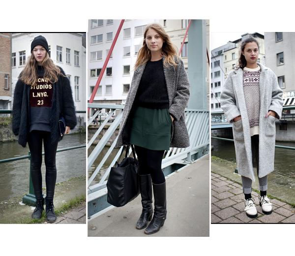 Streetstyle: XL-jassen in Gent