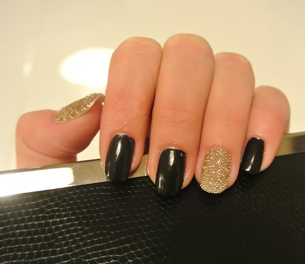 Nail Art: Dior caviaar manicure