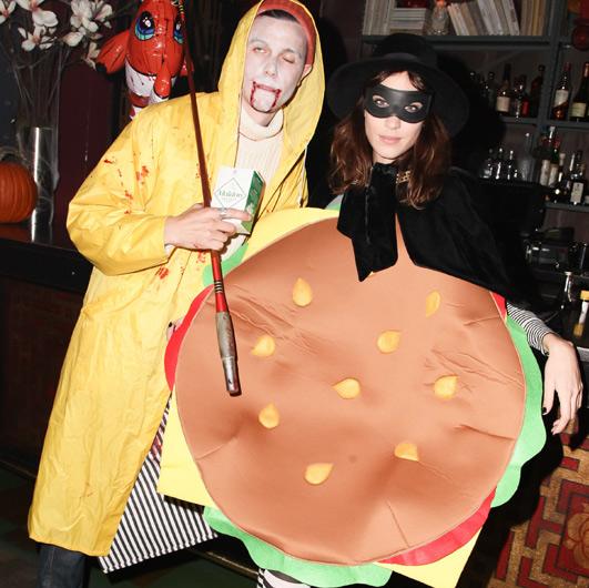 Alexa Chung hamburger