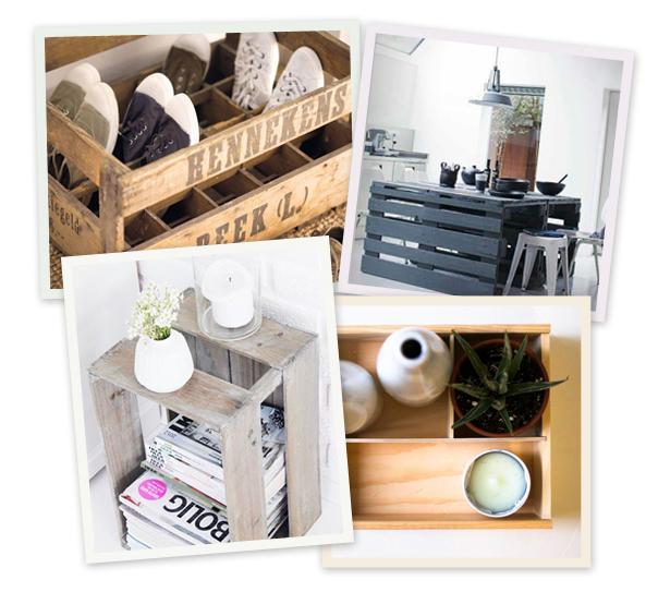 Pinspiration: hoe recycleer je oude kisten?