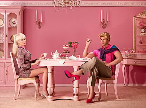 Het leven zoals het is: Barbie en Ken in hun Dollhouse