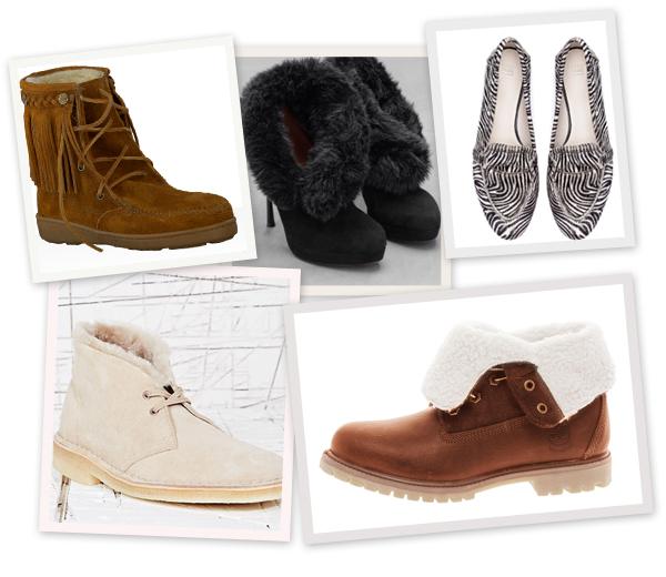 Shopping: 11x donzige schoenen