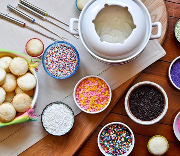 IN BEELD. Cupcakefondue