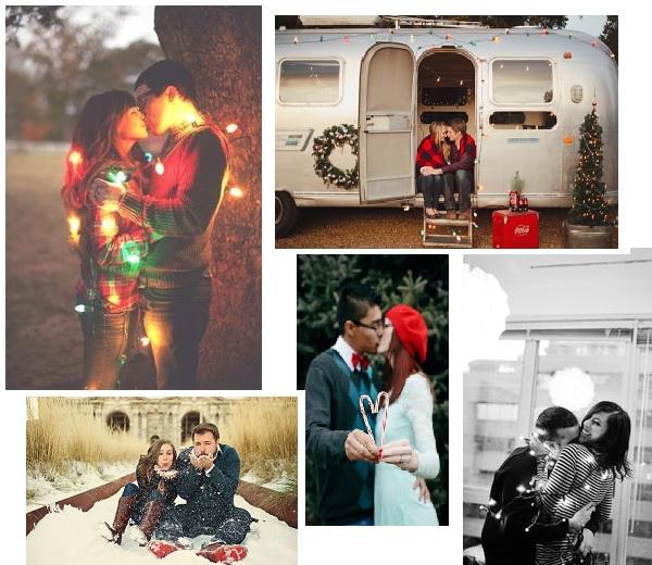 Pinspiration: Verlovingsfoto's als kerstkaartjes