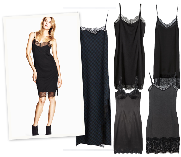 Shopping: 10x de slip dress