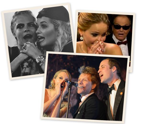 Taylor Swift en prins William: top vijf showstelers