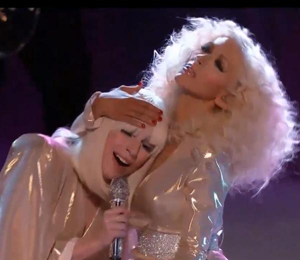 Lady Gaga doet het met Christina Aguilera
