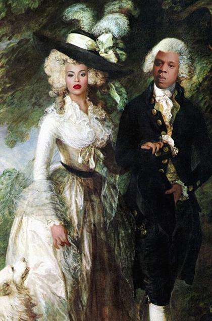 Beyoncé en JayZ