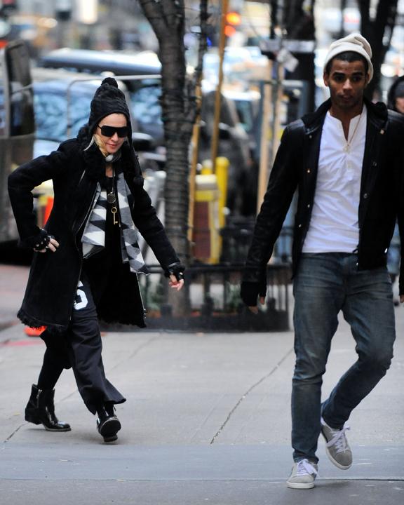 Madonna en Brahim woonden afgelopen maand nog een Kabbalah dienst bij in New York