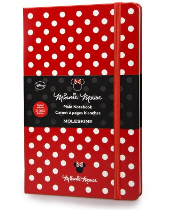 Minnie Mouse Moleskine - 22,90 €