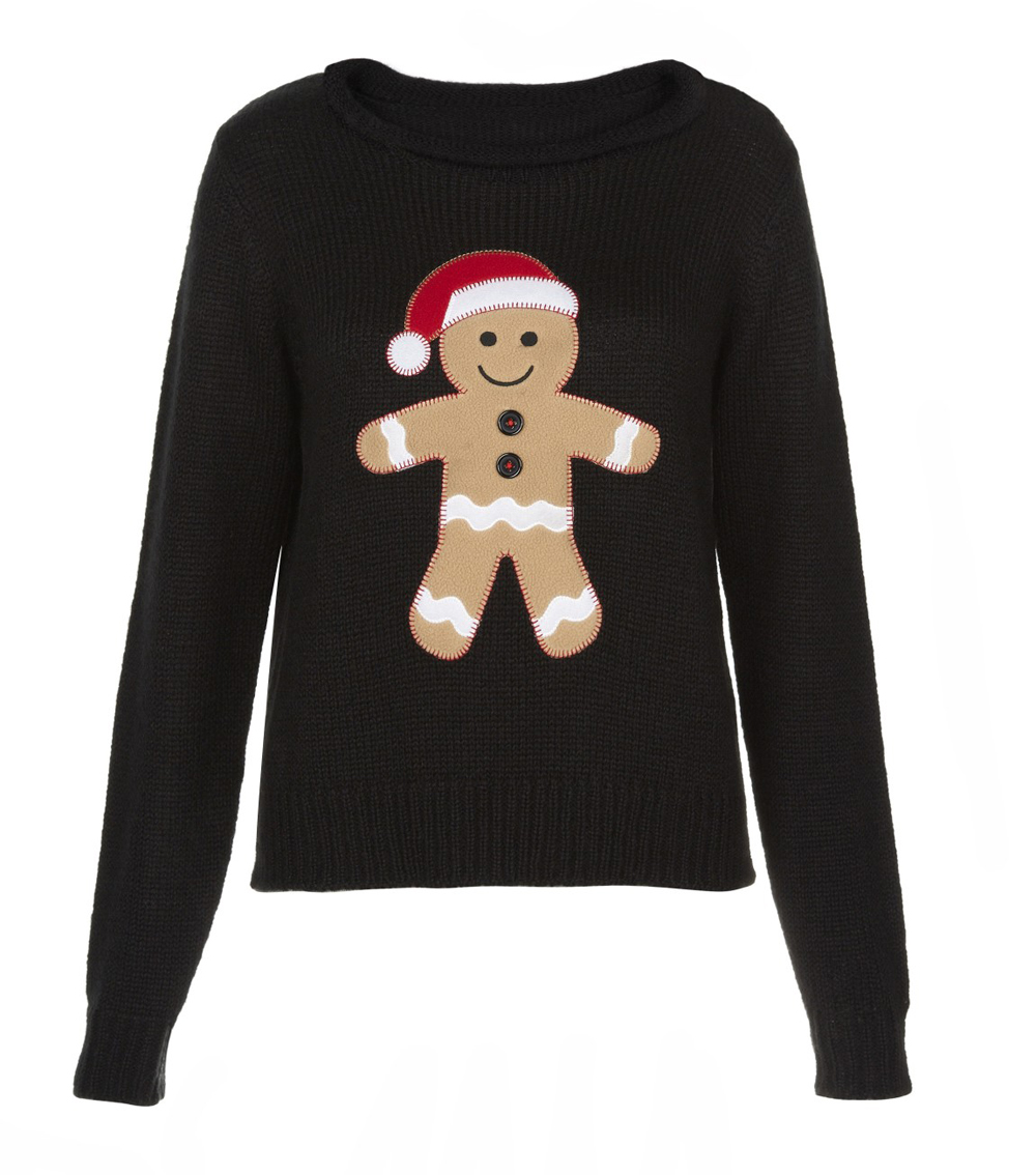 Because who said Santa was white anyways? Turning convention on its head, this sweater features a large black Santa and the word Believe. This sweater is available in Christmas red with a reminder to Believe on the front.5/5().