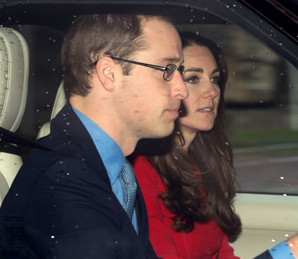 royal family christmas lunch, buckingham palace, london, britain - 18 dec 2013, ,