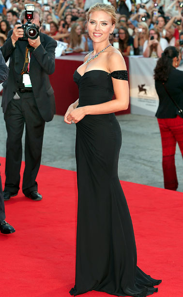 Scarlett Johansson Versace