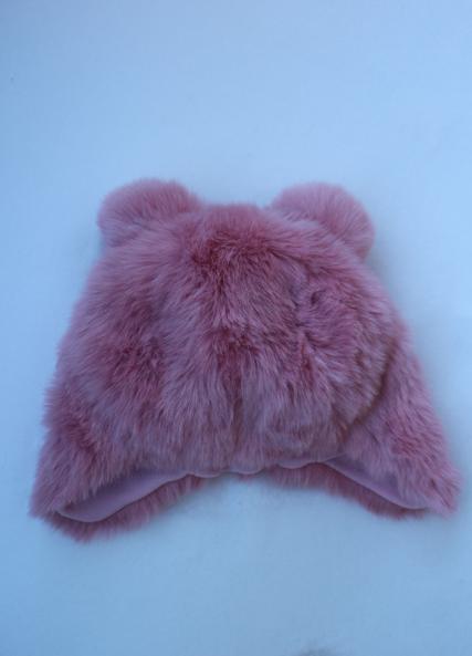 Roze pelsmuts van Barts - 34,99 €