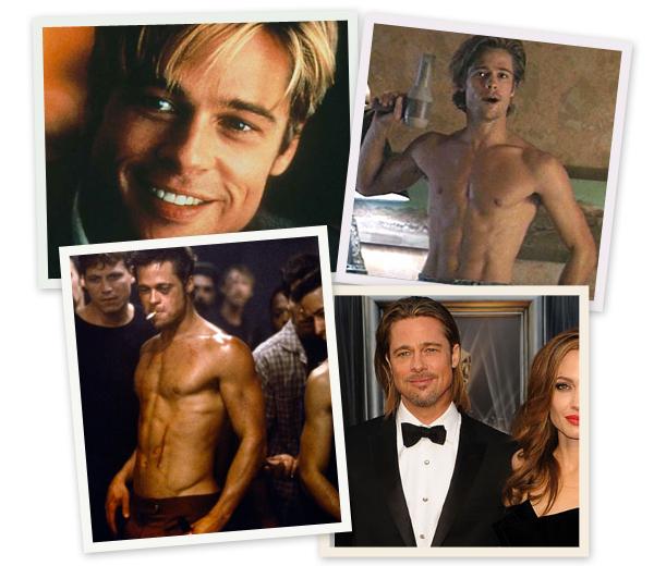 In beeld: 50 sexy plaatjes voor de jarige Brad Pitt