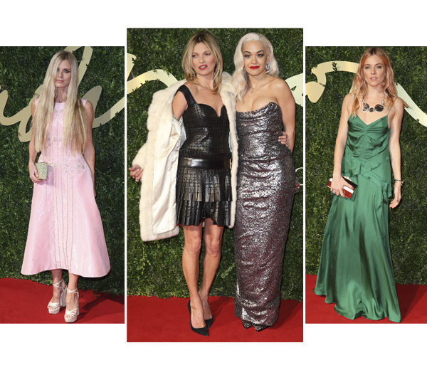Rode Loper: British Fashion Awards