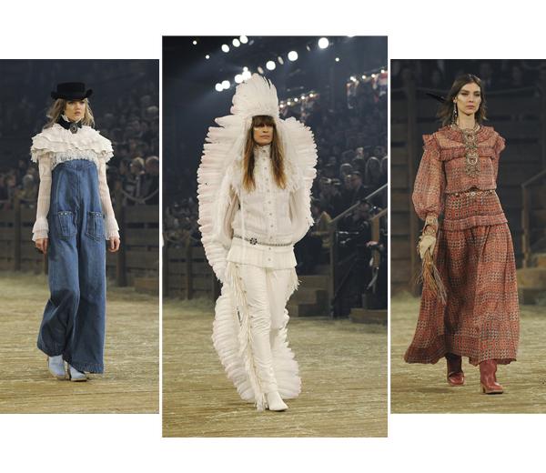IN BEELD. Het Métiers d'Art defilé van Chanel