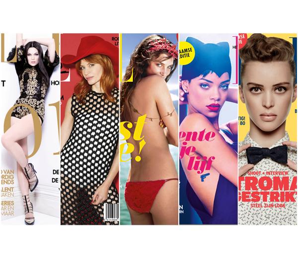 De 12 ELLE België covergirls van 2013
