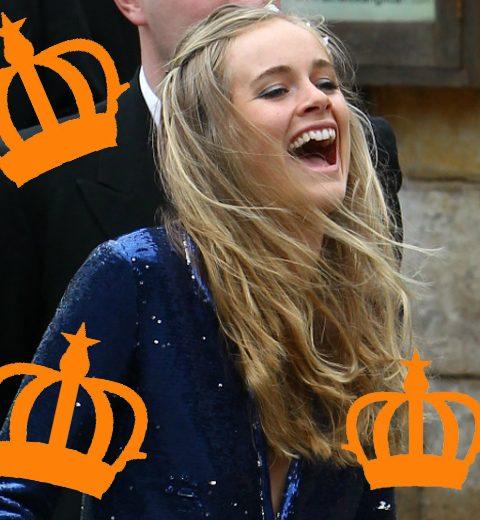 In beeld: de tiara van Cressida Bonas