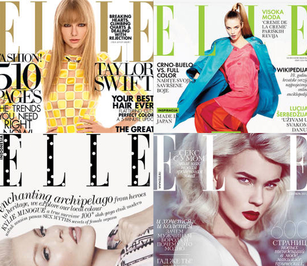 2013 in ELLE covers