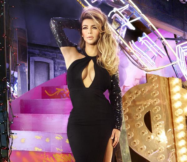 David Lachapelle maakt kerstkaart Kardashians