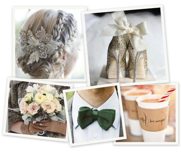 Pinspiration: winters huwelijk