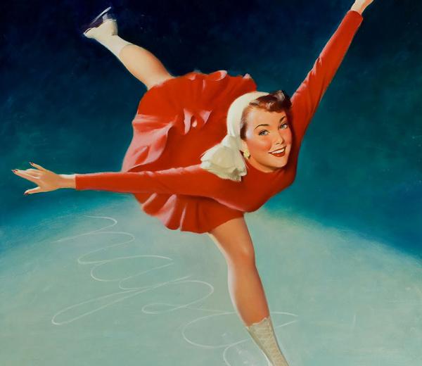 Schoen van de dag: de schaatsen van Sofie