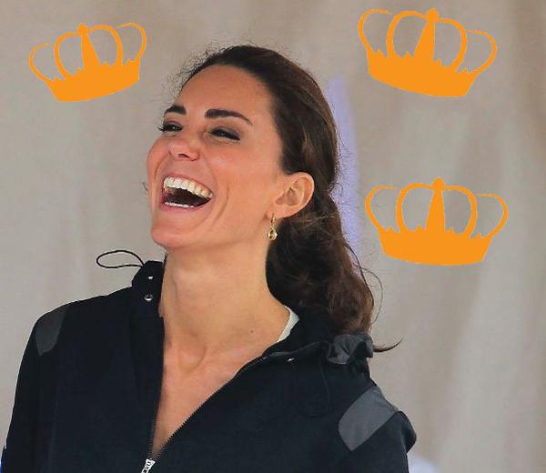 Kate Middleton draagt tiara van Queen Mum